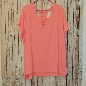 Bright pink livi active 3x NEW workout shirt